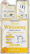 Духи, Парфюмерия, косметика Трехступенчатая маска для лица - Bergamo 3-Step Whitening Mask Pack