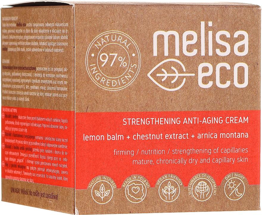 Укрепляющий крем для лица против морщин - Melisa Eco — фото N1
