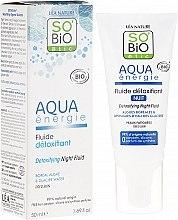 Духи, Парфюмерия, косметика Ночной флюид для лица - So'Bio Etic Aqua Energie Detoxifying Fluid Night
