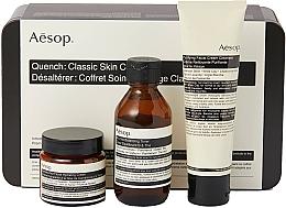 Духи, Парфюмерия, косметика Набор - Aesop Quench Classic Skin Care Kit (toner/100ml + cream/100 + cream/60)