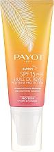 Духи, Парфюмерия, косметика Солнцезащитное сухое масло для тела и волос - Payot Sunny The Sublimating Tan Effect Body and Hair SPF15
