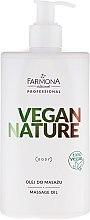 Духи, Парфюмерия, косметика Масло для массажа - Farmona Vegan Nature Massage Oil