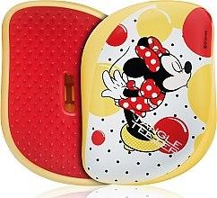Духи, Парфюмерия, косметика Компактная щетка для волос - Tangle Teezer Compact Styler Minnie Mouse Yellow