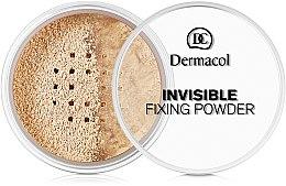 Духи, Парфюмерия, косметика Прозрачная фиксирующая пудра - Dermacol Invisible Fixing Powder
