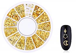 """Духи, Парфюмерия, косметика Украшения для ногтей """"Gold-3"""" - Deni Carte"""