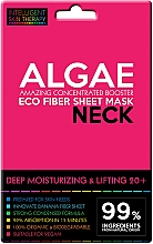 Духи, Парфюмерия, косметика Экспресс-маска для шеи - Beauty Face IST Deep Moisturizing & Lifting Neck Mask Algae