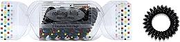 Духи, Парфюмерия, косметика Резинка-браслет для волос, черная - Rolling Hills 5 Traceless Hair Rings Cracker Black
