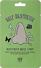 Духи, Парфюмерия, косметика Патч-бабочка для носа против черных точек - G9Skin Self Aesthetic Butterfly Nose Strip