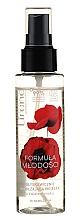 Духи, Парфюмерия, косметика Увлажняющий спрей для лица с цветком мака - Lirene Formula of Youth Spray