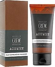 Духи, Парфюмерия, косметика Отшелушивающее очищающее средство для умывания с глиной - American Crew Acumen Clay Exfoliating Cleanser