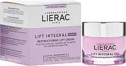 Духи, Парфюмерия, косметика Ночной крем-лифтинг реструктурирующий - Lierac Lift Integral Night Restructuring Lift Cream
