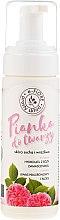 Духи, Парфюмерия, косметика Очищающая пенка для лица на основе гидролата дамасской розы - E-Fiore Washing Foam