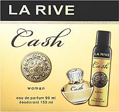 Духи, Парфюмерия, косметика La Rive Cash Woman - Набор (edp/90ml + deo/150ml)