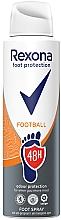Духи, Парфюмерия, косметика Спрей для ног - Rexona Football Spray