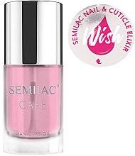 Духи, Парфюмерия, косметика Масло-эликсир для ногтей и кутикулы - Semilac Care Nail & Cuticle Elixir Wish