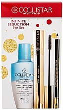 Духи, Парфюмерия, косметика Набор - Collistar Infinite Seduction Eye Set (m/remover/50ml + mascara/11ml + eye/p/1.2g)