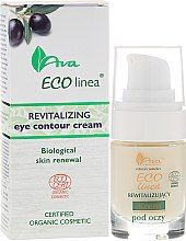 Духи, Парфюмерия, косметика Восстанавливающий крем для глаз - Ava Laboratorium Eco Linea Revitalizing Eye Contour Cream