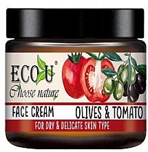 "Духи, Парфюмерия, косметика Крем для лица ""Помидор и оливки"" - Eco U Face Cream"