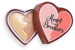 Духи, Парфюмерия, косметика Хайлайтер - I Heart Revolution Heart Breakers Powder Highlighter