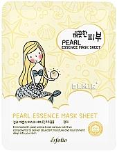 Духи, Парфюмерия, косметика Тканевая маска для лица c жемчугом - Esfolio Essence Mask Sheet