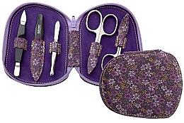 Духи, Парфюмерия, косметика Маникюрный набор для ногтей - DuKaS Premium Line Manicure set 5-piece PL 111FFK