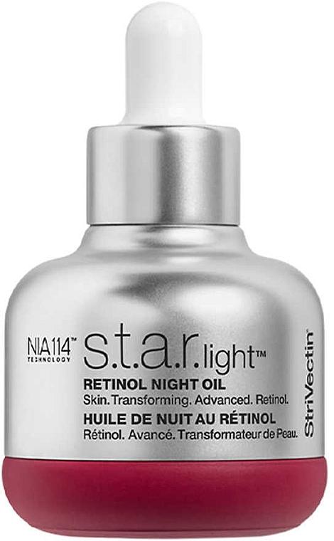 Ночное масло для лица с ретинолом - StriVectin Advanced Retinol S.T.A.R. Light Retinol Night Oil — фото N1