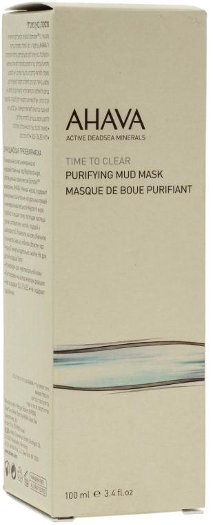 Очищающая маска для лица - Ahava Time To Clear Purifying Mud Mask — фото N2