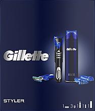 Духи, Парфюмерия, косметика Набор - Gillette Fusion 5 (sh/gel/200ml + razor/styler)
