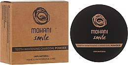 Духи, Парфюмерия, косметика Отбеливающий зубной порошок - Mohani Smile Teeth Whitening Charcoal Powder