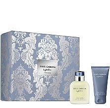 Духи, Парфюмерия, косметика Dolce&Gabbana Light Blue Pour Homme - Набор (edt/75ml + ash/balm/50ml)