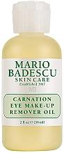 Духи, Парфюмерия, косметика Масло для снятия макияжа с глаз - Mario Badescu Carnation Eye Make-Up Remover Oil