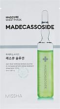 Духи, Парфюмерия, косметика Маска с мадекассосидом для лица - Missha Mascure Rescue Solution Sheet Mask Madecassoside