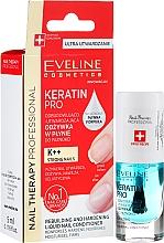 Духи, Парфюмерия, косметика Кондиционер для ногтей - Eveline Cosmetics Nail Therapy Professional Keratin Pro