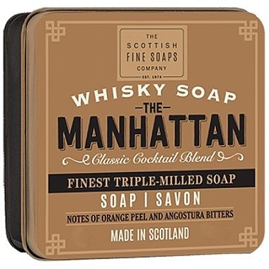 Мыло - Scottish Fine Soaps The Manhattan Soap In A Tin — фото N1
