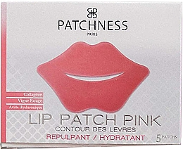 Духи, Парфюмерия, косметика Патчи для губ с экстрактом красного винограда - Patchness Lip Patch Pink