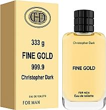 Духи, Парфюмерия, косметика Christopher Dark Fine Gold - Туалетная вода