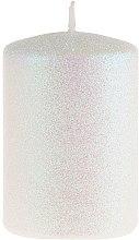 Духи, Парфюмерия, косметика Декоративная свеча, перламутровая, 7х10 см - Artman Glamour