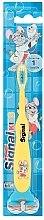 Духи, Парфюмерия, косметика Детская зубная щетка, желтая - Signal Kids
