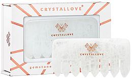 Духи, Парфюмерия, косметика Прозрачный кварцевый гребешок - Crystallove Clear Quartz Comb