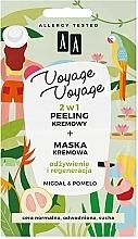"Духи, Парфюмерия, косметика Крем-пилинг + крем-маска ""Миндаль и помело"" - AA Voyage Voyage 2 In 1"