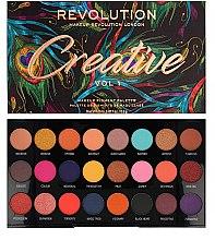 Духи, Парфюмерия, косметика Палетка теней для век, 24 оттенка - Makeup Revolution Creative Vol 1 Eyeshadow Palette