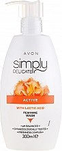 Духи, Парфюмерия, косметика Крем-гель для интимной гигиены с молочной кислотой - Avon Simpy Delicate Feminine Wash