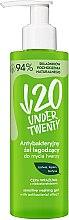 Духи, Парфюмерия, косметика Антибактериальный гель для умывания - Under Twenty Anti Acne Sensetive Washing Gel With Antibacterial Effect