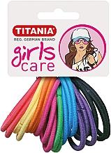 Духи, Парфюмерия, косметика Резинки для волос, 20шт, разноцветные - Titania Girls Care