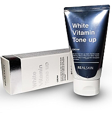 Духи, Парфюмерия, косметика Крем для лица и тела - Real Skin White Vitamin Tone-Up Cream