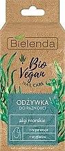 "Духи, Парфюмерия, косметика Средство по уходу за ногтями ""Морские водоросли"" - Bielenda Bio Vegan Nail Care Sea Algae"