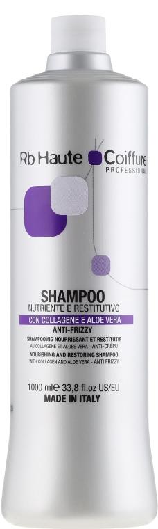 Питательный и восстанавливающий шампунь для волос - Renee Blanche Haute Coiffure  — фото N1