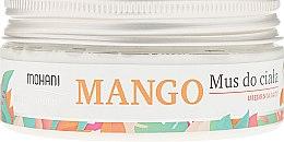 Духи, Парфюмерия, косметика Мусс для тела - Mohani Natural Mango Mousse