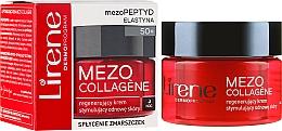 Ночной восстанавливающий крем для лица - Lirene Mezo Collagene — фото N1