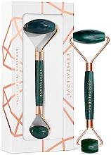 Духи, Парфюмерия, косметика Роллер-массажер для лица - Crystallove Aventurine Roller